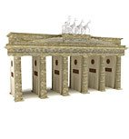 DOSCH 3D: Brandenburger Tor Berlin