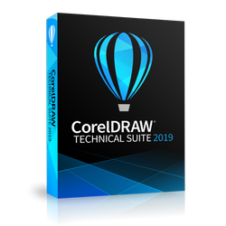 CorelDRAW Technical Suite 2019 Enterprise Upgrade License (includes 1 Year CorelSure Maintenance)(51-250)